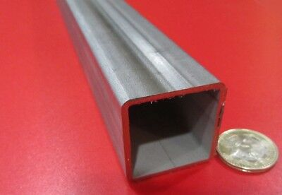 304 Stainless Steel Square Tube 1 12 Sq X .083 Wall X 12 Inch Length
