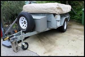 Off road ( 4 x 4) galvanised 12 ft camper trailer
