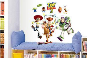 Buzz lightyear wall stickers ebay for Buzz lightyear wall mural