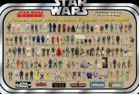 WANTED - VINTAGE STAR WARS TOYS - CASH PAID