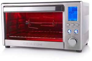 Curtis Stone 26-Liter Digital Rotisserie and Convection Oven