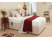 HSL Adjustable 4ft Bed with headboard and Mattress protector