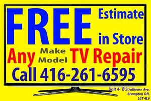 > TV Repair LG, SONY, Sharp, Samsung, Panasonic, Hitachi, JVC