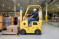 Forklift Operators in Hamilton!