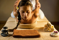 Chinese Acupressure+Thai Stretch+ Hot Stone= Deep Tissue Massage