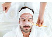 Giving out free facials, simple manicure and nail polish renewal