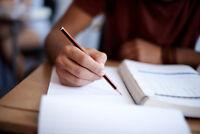 Aide Tutorat - Travaux scolaires - Cégep Université
