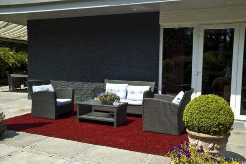 Tapijt Voor Balkon : ≥ buiten tapijt gekleurd kunstgras voor terras en balkon gras