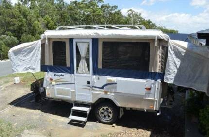 Jayco Eagle 2007 – Outback – Very Good Condition with many custom