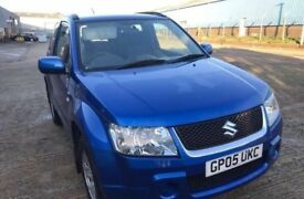 SUZUKI Grand Vitara VVT Estate Petrol Manual Blue 2005