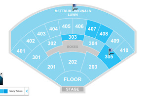 2 CHANCE THE RAPPER FLOOR TICKETS