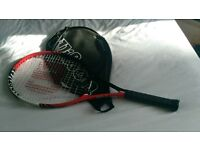 Tennis Racket - Wilson - Red and Black - Hardly used