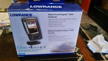 Lowrance Elite-4x HDI sounder fish finder South Hobart Hobart City Preview