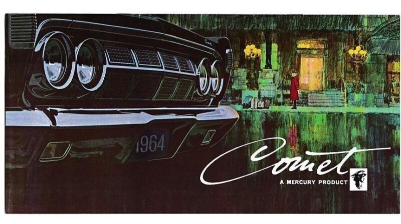 1964  Mercury Comet Brochure