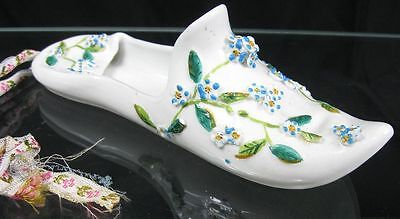 Real Nice 19th c Meissen Slipper Shoe