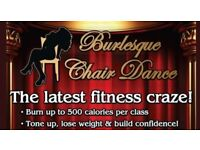 Burlesque Chair Dance classes - Stirling & Tullibody