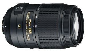 NIKON DX 55-300mm f4.5-5.6 VR lens in excellent condition