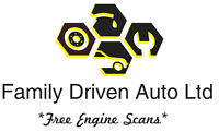 Family Driven Auto ($49.99/Hr Shop Rate)