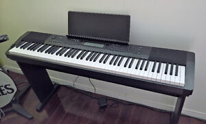 Casio CDP-220 88 Full-size Digital Piano with Pedal and Bench