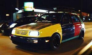 1998 Volkswagen Golf harlequin