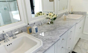 GRANITE & QUARTZ COUNTERTOPS + FREE VANITY TOP (647) 812-0537
