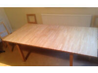 Ikea - Beech extendable dining table