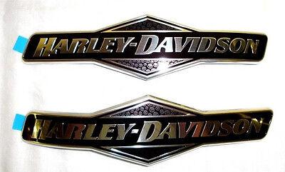 Genuine  Harley Willie G Skull Fuel Gas Tank  Emblems Emblem Set Badges