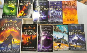 Steven Erikson-Malazan-Book of the Fallen Series