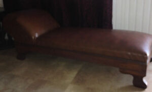 Leather couch. $200