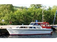 Princess 32 Five Berth Cabin Cruiser powered by a Volvo Diesel Inboard Engine. Well Looked After.