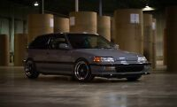 Honda civic si 1990 type r