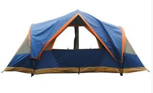 Outdoor Waterproof Hiking Camping Tent 8 People Capacity Family Vacation Camping 212060