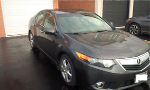 2012 Acura TSX Sedan with Acura Ext Warranty and 2 tires sets