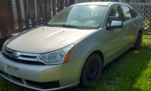 2008 Ford Focus SE trade