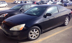Sporty 2005 Honda Accord EX Coupe (2 door)
