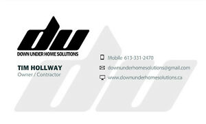 Down Under Home Solutions Kingston Kingston Area image 9