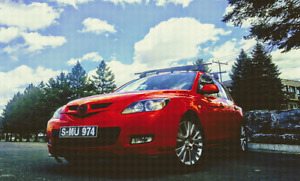 mazda 3 hatch back 2009