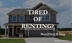 Rent to Own -Toast to a New year and your New Home!