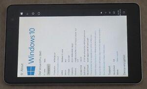 Win 10 Tablet Dell Venue 8 Pro