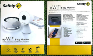 Safety 1st HD Wi-Fi Baby Monitor with sound and movement detecti
