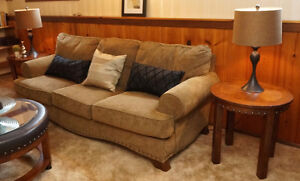 Matching Couch, Loveseat, Coffee and End Tables
