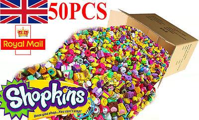 Random Lot of 50PCS Shopkins of Season 1 2 3 4 5 6 Different Loose Shopkins Toys