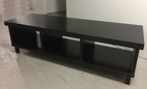 TV Bench Stand Unit, Black, TV Table