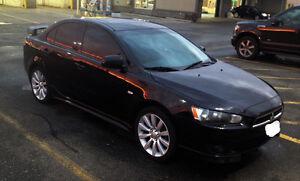 2009 Mitsubishi Lancer GTS Sedan etested loaded $6300 119200KMS