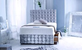 BEDS: 🟡 DESIGNER DIVAN BEDS | BRAND NEW | FREE DELIVERY