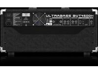 Behringer Ultrabass BVT4500H 450-Watt Bass Head