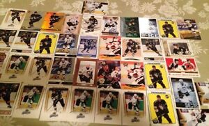38 Mario Lemieux Hockey Cards-6 Silver Script - 1 Distant Reply