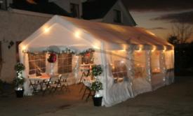 HEAVY DUTY 4m x 8m NEW Gazebo Marquee Canopy - £390 each