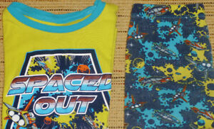 Boys Size 8 - TCP Spaced Out PJ Set