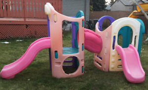 Little Tykes 8 in 1 play ground / play structure (Ages 2-8)